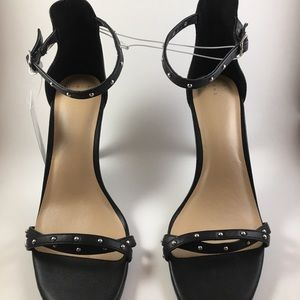 Women's Enya Studded Barely There Pump Heels Black